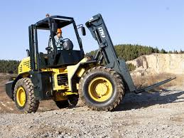 Rough Terrain Forklift Refresher - Class VII